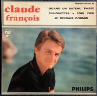 """Claude François - """" Quand Un Bateau Passe """" ... . Disque 45 T. - Disco & Pop"""