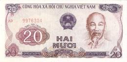 VIET NAM   20 Dong   1985 (1986)  P. 94a   UNC - Vietnam