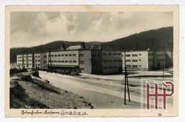 Foto AK Gotenhafen - Grabau, Kasernen, Wehrmacht, Feldpost Marine (7019) - Pologne