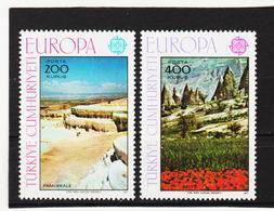 LVT213 EUROPA-CEPT 1977 TÜRKEI  MICHL 2415/16 ** Postfrisch SIEHE ABBILDUNG - 1977