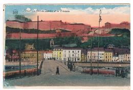 CPA : NAMUR - Pont De Jambes Et Citadelle 10 Km/h Dans L'agglomération ! - Namur