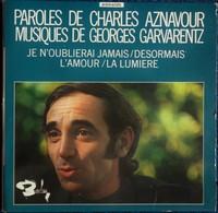 """Charles Aznavour -  . Disque 45 T.- """" Désormais """" ... - Disco & Pop"""