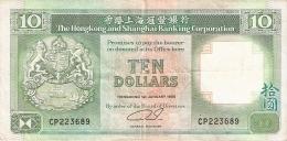 HONG KONG   10 Dollars   1/1/1990   P. 191c - Hong Kong