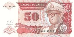 ZAIRE   50 Nouveaux Zaires   24/06/1993   Sign.9   HdMZ (CdM-A)   P. 57   UNC - Zaïre