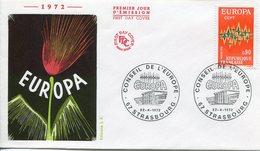 EUROPA CEPT FRANCE FDC  1972 YVERT N° 1745 - Europa-CEPT