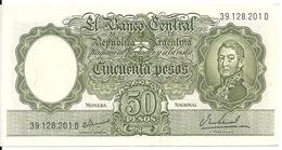 ARGENTINE 50 PESOS ND1968-69 AUNC P 276 - Argentine