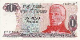 ARGENTINE 1 PESO ARGENTINO ND1983-84 UNC P 311 - Argentine