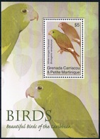 Bloc Sheet Oiseaux Perroquets Birds Parrots Macaws Neuf  MNH **  Grenada 2011 - Papagayos