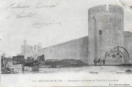 30)  AIGUES  MORTES  - Remparts Extérieurs Et Tour De Constance - Aigues-Mortes