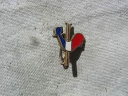 Petite Broche Du Coq Francais Représentant L'embleme Du SKI FRANCAIS - Sport Invernali