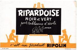 Buvard Ripardoise, Peinture Pour Tableaux D'école. Produit Ripolin. - Peintures