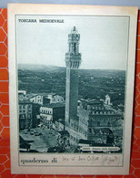 QUADERNO SCOLASTICO VINTAGE TOSCANA MEDIOEVALE - Old Paper