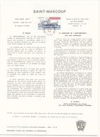 T.A.A.F Document Officiel Saint-Marcouf Du 16 Mars 1981 Au Kerguelen - Terres Australes Et Antarctiques Françaises (TAAF)