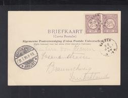Niederlande AK Marken Binnenhuis 1899 - 1891-1948 (Wilhelmine)