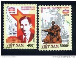 Vietnam Viet Nam MNH Perf Stamps 1998 : 300th Anniversary Of Saigon - Ho Chi Minh City (Ms775) - Viêt-Nam