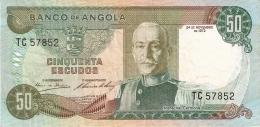 ANGOLA   50 Escudos   24/11/1972   P. 100 - Angola