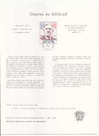 T.A.A.F Document Officiel Charles De Gaulle Du 18 Mars 1981 Au Kerguelen - Terres Australes Et Antarctiques Françaises (TAAF)