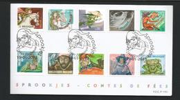 Belgium 2014 Fairy Tales - Sprookjes  OCB  4295/4304 (0) - FDC