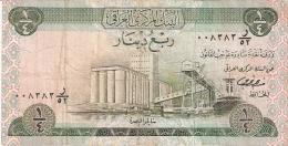 IRAQ   1/4 Dinar   ND (1973)   Sign.18   P. 61 - Iraq