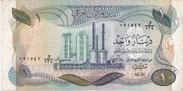 IRAQ   1 Dinar   ND (1973)   Sign.18   P. 63b - Iraq