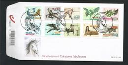 Belgium 2012 Fabelwezens  OCB  4201/4210 (0) - FDC