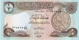 IRAQ   1/2 Dinar   1985   Sign.22   P. 68a   UNC - Iraq