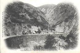 30) VALLERAUGUE  - Montée De La Sereyrède  ( Attelage  ) - Valleraugue