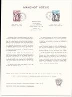 T.A.A.F Document Officiel Manchot Adélie Du 18 Mars 1981 Au Kerguelen - Terres Australes Et Antarctiques Françaises (TAAF)