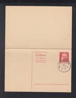 Bayern GSK Mit Antwort Stempel München 1911 - Bayern (Baviera)