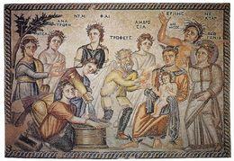 1 AK Zypern Cyprus * Antikes Bodenmosaik In Einer Villa Bei Paphos Ca. 2000 Jahre Alt - Seit 1980 UNESCO Weltkulturerbe - Zypern