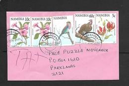 Namibia, Cover, NS 1.85 > S.Africa, ONDANGWA 1999 10 28 - Namibia (1990- ...)