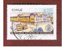 CILE (CHILE)  - SG 802    -  1978  CATHOLIC UNIVERSITY, VALPARAISO      -     USED ° - Chile