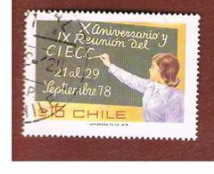 CILE (CHILE)  - SG 805    -  1978  EDUCATION: CIECC     -     USED ° - Cile