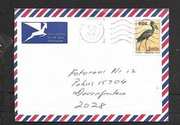 Namibia, Cover, Air Mail, 80c Open Billed Stork > S.Africa,WINDHOEK 1995  4-7 - Namibia (1990- ...)