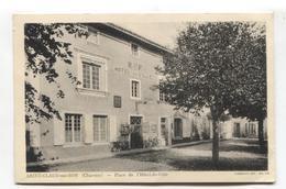 Saint-Claud-sur-Son (16) - Place De L'Hôtel-de-Ville - France