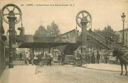 PARIS 19eme  Le Pont Levant De La Rue De Crimée - Distretto: 19