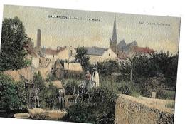 GALLARDON  LA MARLY  PERSONNAGES  COULEURS   Dept 28 - Autres Communes