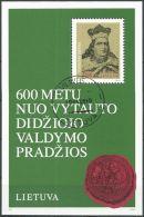 LITAUEN 1993 Mi-Nr. Block 3 O Used - Aus Abo - Lithuania