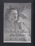Österreich PK Hitler 1938 Sonderstempel - Historische Persönlichkeiten