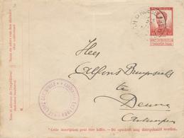 321/27 - Enveloppe Pellens ROESELARE 1914 Vers DEURNE - Cachet Le Libre Cartophile Roulers - Recto/Verso - Enteros Postales
