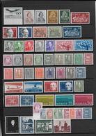 NORVEGE - ANNEES COMPLETES 1962/63 (COMPRIS LES VARIETES PAPIER PHOSPHO...) **/MNH - COTE YVERT = 155 EUR. - Ganze Jahrgänge