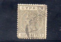 CHIPRE 1881 O FILIGRANE CC - Cyprus (...-1960)