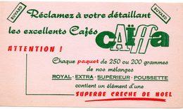 Buvard Cafés Caïffa. Les Excellents Cafés. - Coffee & Tea