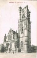 29875. Postal CLAMECY (Nievre) . Eglise St. Martin - Clamecy
