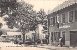 CPA - 25, JOUGNE, La Frontiere Franco-Suisse, 1909 - Altri Comuni