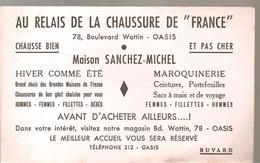 Buvard Au Relais De La Chaussure De France 78, Bld Wattin OASIS Maison SANCHEZ-MICHEL - Shoes