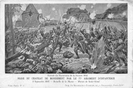 GUERRE 14 18 WW1   PRISE DU CHATEAU DE MONDEMENT   7 E REGIMENT D INFANTERIE - Guerre 1914-18