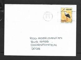 Namibia, Cover,N$ 1.10 White Stork > S.Africa,WINDHOEK 1997 13 - 5 - Namibia (1990- ...)