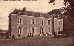 BAIN De BRETAGNE Chateau De La Borgnere - France
