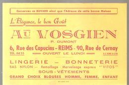Buvard AU VOSGIEN P. DUMONT 6, Rue Des Capucins Reims L'Elégance Au Bon Goût - Textile & Clothing